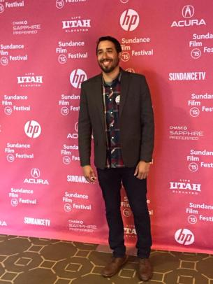 "Getting ready for the premier of ""Most Likely To Succeed"" at the 2015 Sundance Film Festival"